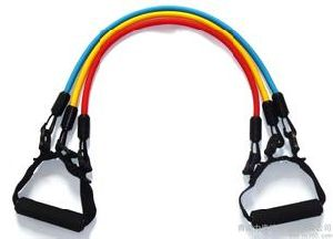 Resistance Band Type Resistance Training Tube Set pictures & photos