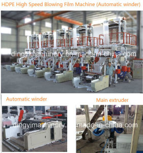 High Speed Automatic Change Roll Film Blowing Machinery pictures & photos