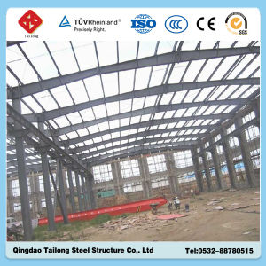 Pre-Engineered Large-Span Light Structural Steel Workshop Building pictures & photos