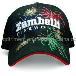 Metallic Embroidery Cotton Twill Sport Golf Baseball Cap (TRB016) pictures & photos