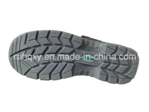 Leather+Artifical Leather Part Sandal Safety Shoe (HQ05036) pictures & photos