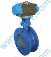 Flange PTFE Reinforce Seal Butterfly Valves