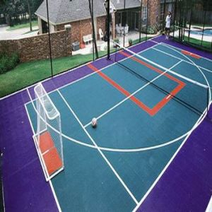 Outdoor Professional Suge Interlocking Sports Floor Tiles for Sports pictures & photos