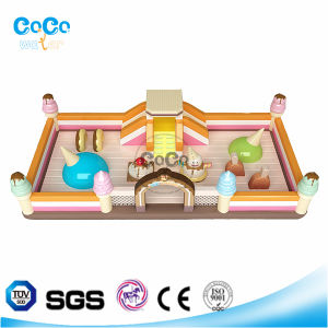 Cocowater Design Inflatable Icecream Theme Bouncer Castle LG9004 pictures & photos