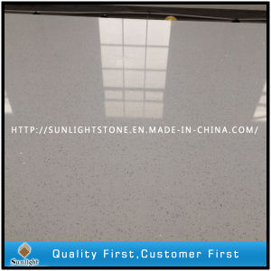 Engineered Artificial Solid Surface White Quartz for Vanity Tops pictures & photos