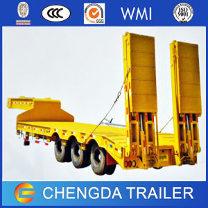 New 3axle 60ton Heavy Duty Trailer for Nigeria pictures & photos