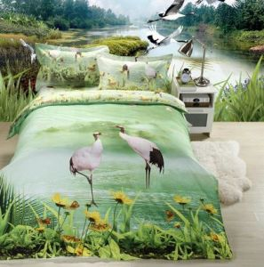 3D Popular Animal Print Bedspread pictures & photos