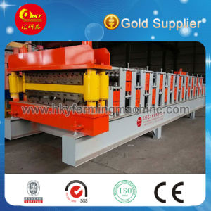 Automatic Double Layer Roof Tile Roll Forming Machine pictures & photos