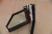 Aluminium Extrusion Profile for Window pictures & photos