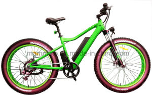 Hidden Battery Fat Tire 26inch Beach Mountain Electric Bicycle pictures & photos
