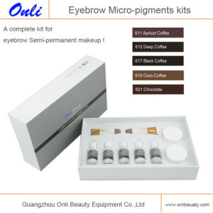 Eyebrow Pigment Color Permanent Makeup Kit pictures & photos