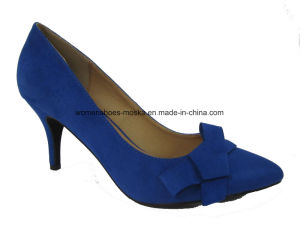 Three Colors New Fashion Women High Heel Lady Dress Shoes pictures & photos
