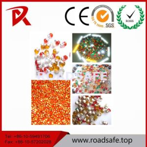 Safety Equipment Glass Beads Cat Eye Reflector Road Studs pictures & photos