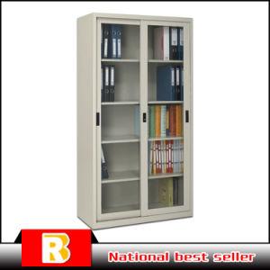 Wholesale Steel Sliding Glass Door Material Metal Locker Cabinets pictures & photos