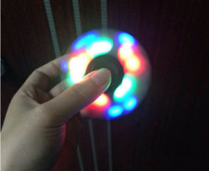 LED Flashing Hand Fidget Spinner Bearing Stress Reducer for Adhd pictures & photos