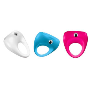 Soft Material Adult Silicone Vibrating Cock Ring Adult Sex Toy pictures & photos