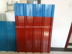 FRP Panel Corrugated Fiberglass Color Roofing Panels W172091 pictures & photos