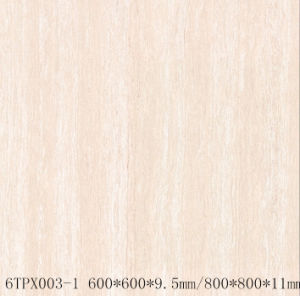 Line Stone Series Ceramic Double Loading Porcelain Polished Tiles (6TPX003-1)