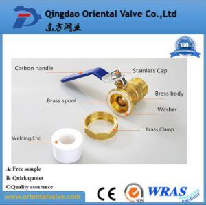 Oil Media and Low Pressure Pressure Brass Ball Valve 1-1/2 Inch pictures & photos