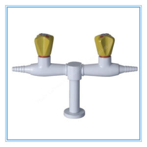 China Lab Sell Desktop Double Way Gas Tap (HL-P-QF-1) pictures & photos