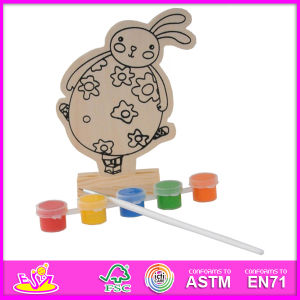 2014 New Play Paint Toy Baby Toy, Cheap DIY Wooden Toy Baby Toy, Educational Toy Wooden Paint Baby Toy W03A052 pictures & photos