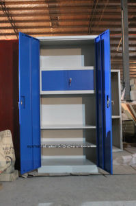 2016 Hot Sale 2 Doors Office Furniture Steel Document Storage Cabinet / Metal Security File Cabinet with Locking System pictures & photos