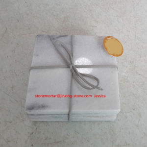 Square Marble Coaster Set of 4 pictures & photos