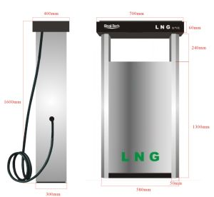 1-2 Hose LNG Fuel Dispenser pictures & photos