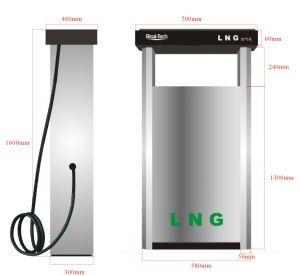1-2 Hose LNG Fuel Dispenser pictures & photos