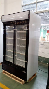 1150litertwo Door Display Cooler with High Quality Made in China pictures & photos