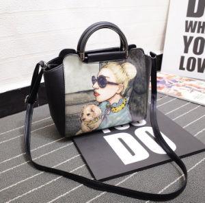 PU Handbag with Women Photo Printing pictures & photos