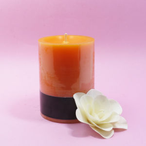 Wedding Scented Big Wax Pillar Candle pictures & photos