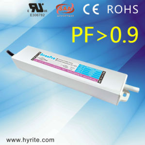 Hyrite CV Slim Size Switching Mode Power Supply High PF0.9 12V 10W IP67 Constant Voltage LED Driver with Ce RoHS Bis SAA Saso TUV pictures & photos