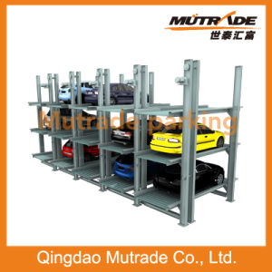 2 3 4 Levels Mutrade Parking Subterranean Pfpp Series Smart Automatic Underground Parking System pictures & photos