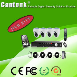 China Top CCTV Surveillance IP & HD Camera 1080P 4CH Ahd DVR Kits pictures & photos