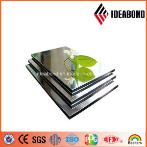 Ideabond 3mm Two Side Silver Mirror Aluminum Composite Panel (Ae-201) pictures & photos