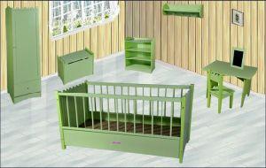 2015 New Popular Baby Cot, New Wooden Baby Cot, Baby Cot, Luxury Playpen Baby Cot Bed (WJ278323) pictures & photos