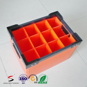 DSC/Stackable Tote Plastic Corrugated Box for Package pictures & photos