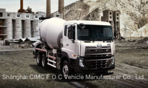 Ud 5600L 6X4 370HP Euro IV Cement Mixer Truck