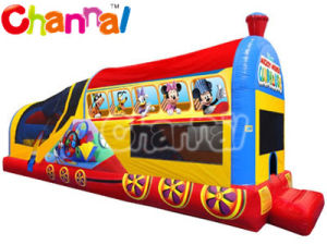 Mickey Choo Choo Bouncer Inflatable Combo Bb277 pictures & photos
