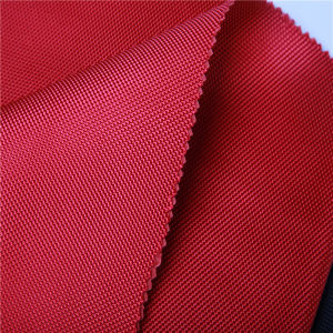 100% Nylon 840d with PU Coating Fabric pictures & photos