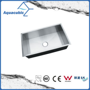 33-in Handmade Single Bowl 16 Ga Stainless Steel Sink (ACS3319A1) pictures & photos