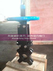 ANSI 150# Water Treatment Knife Gate Valve pictures & photos