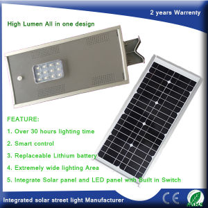 15W Integrated Solar Garden/Street Light with 2years Warrenty pictures & photos
