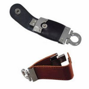 2/4GB Leather USB Flash Disk CE Approved pictures & photos