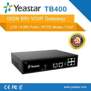Isdn to SIP Trunk VoIP Call SIP Based Bri Gateway pictures & photos