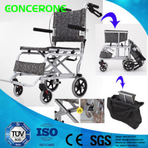 Disabled Scooter Aluminium Alloy Wheel Chair for The Aged pictures & photos