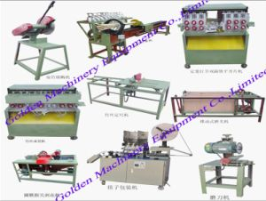 Wooden Toothpick Making Toothpicks Packing Toothpicks Production Line Machine pictures & photos