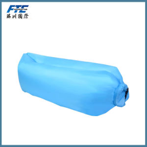 Polyester Air Sleeping Bag Sleeping Bag Inflatable Air Bed pictures & photos