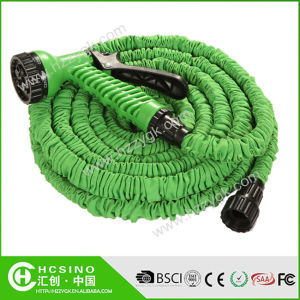 Magic Retractable Canvas Garden Water Hose with 3/4′′ Faucet
